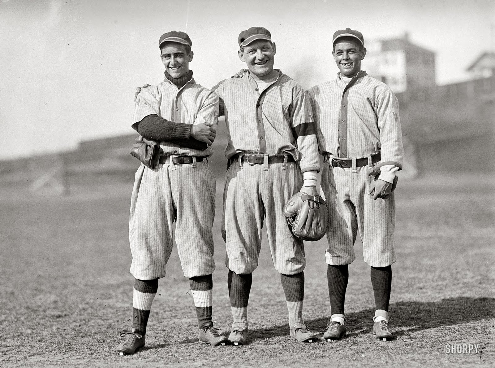 Vintage baseball old golds